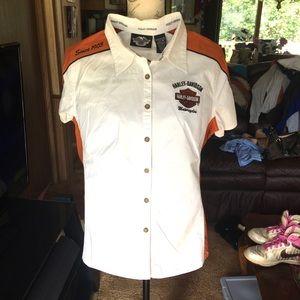 🏍Boys Harley Davidson 🏍 button up shirt